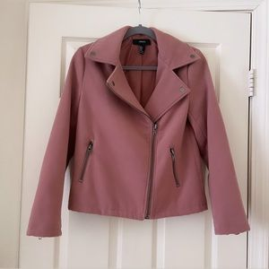 Mauve Moto Jacket